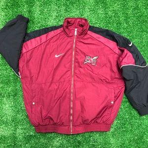 Vntg Nike Florida State Seminoles Puffer Jacket